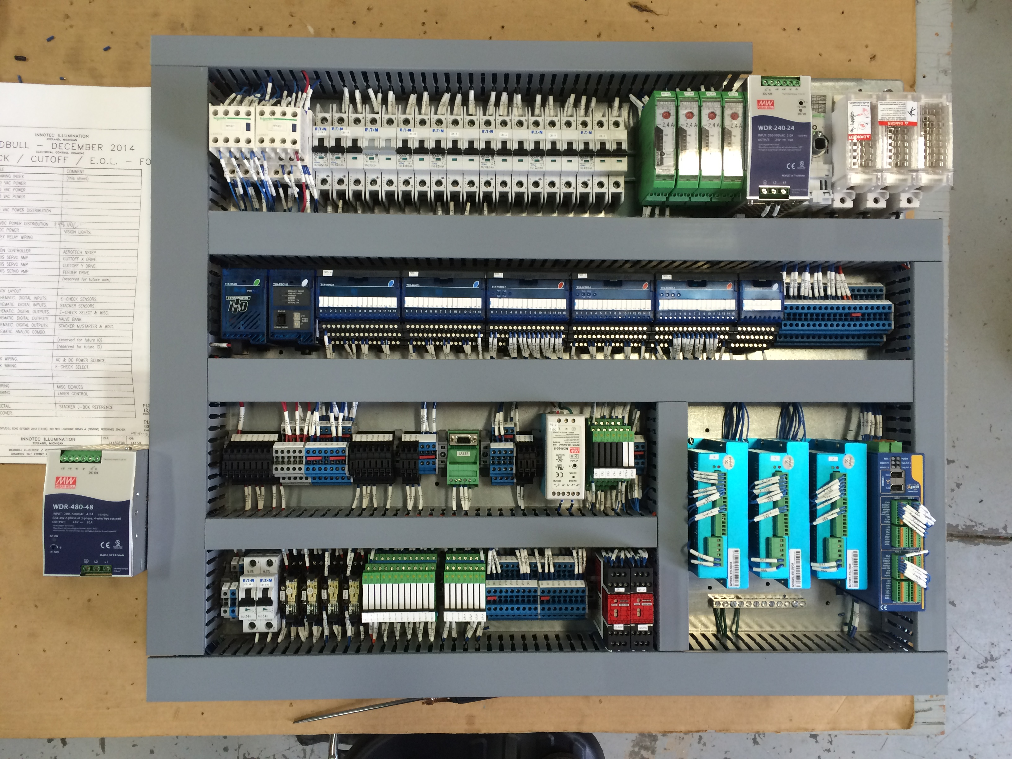 Building Electrical Panel : Electrical control panel installation drawing readingrat
