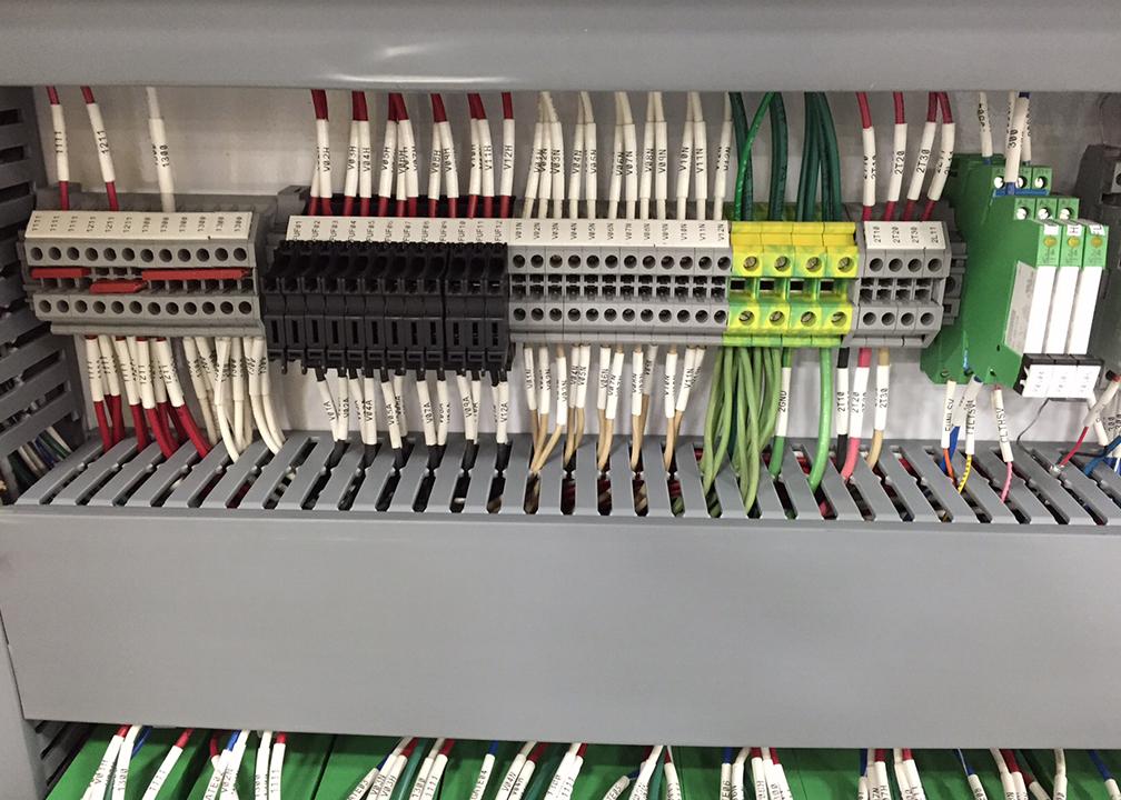 Assembled Control Panel